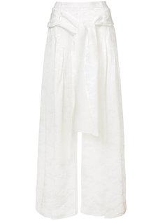широкие брюки со складками  Rosie Assoulin