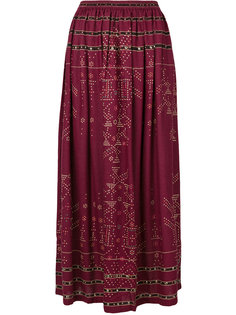 пышная юбка с принтом Mes Demoiselles