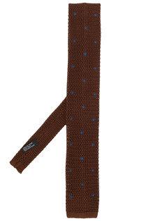 галстук с квадратным концом Delloglio
