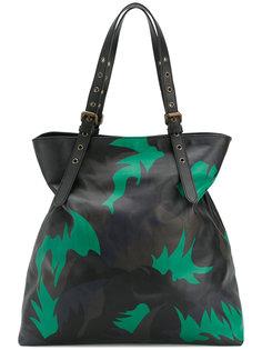 большая камуфляжная сумка Tomas Maier