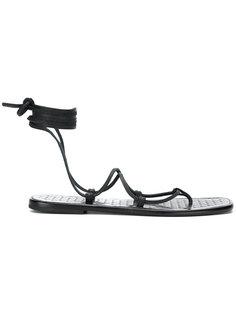 сандалии со шнуровкой Tomas Maier