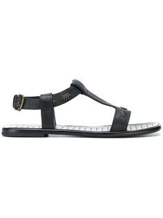 сандалии с заклепками Tomas Maier