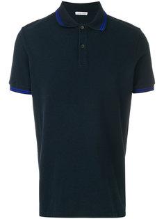 футболка-поло с контрастными полосками Tomas Maier