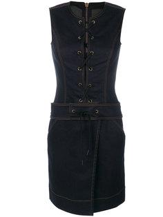 платье со шнуровкой без рукавов Tomas Maier