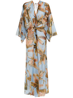 floral print maxi dress Giuliana Romanno