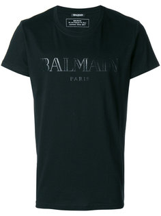 футболка кроя слим с логотипом Balmain