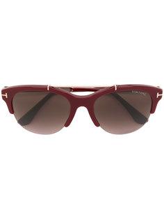 """солнцезащитные очки в оправе """"кошачий глаз"""" Tom Ford Eyewear"""