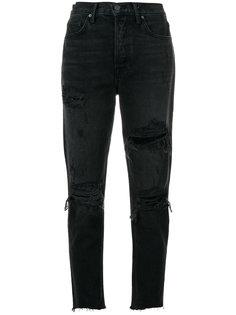 джинсы с рваной отделкой Grlfrnd