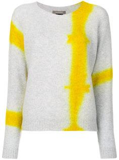 вязаный свитер с принтом тай-дай Suzusan