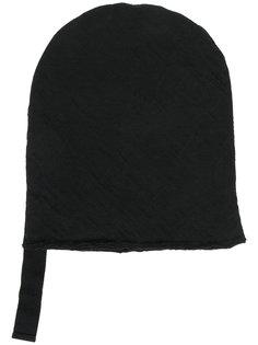шапка-бини с необработанными краями Thom Krom