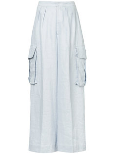 широкие брюки-карго Bambah