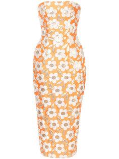 платье-футляр с ромашками Bambah