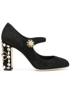 декорированные туфли Vally Dolce & Gabbana