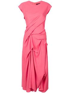 платье-миди с рюшами Sies Marjan