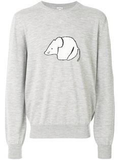 свитер с мышью Loewe