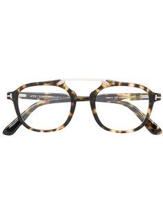 очки 5495 с эффектом черепашьего панциря Tom Ford Eyewear