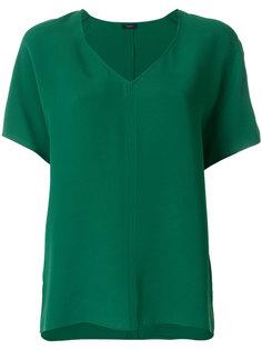 блузка с V-образной горловиной Joseph