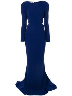 креовое длинное платье  Stella McCartney