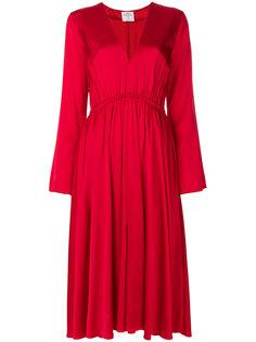 расклешенное платье с V-образной горловиной Forte Forte