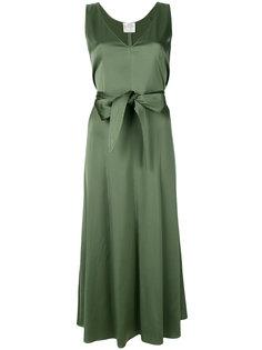 расклешенное платье с поясом Forte Forte