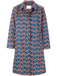 пальто с рисунком в виде куриц La Doublej