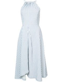 расклешенное платье в полоску  Jason Wu