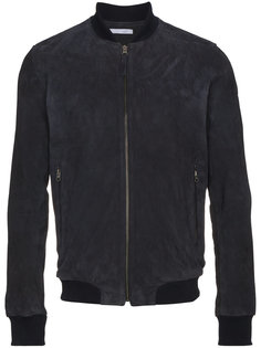 замшевая куртка-бомбер Lot78