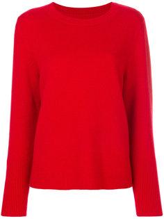 свитер с драпировкой на подоле Chinti & Parker