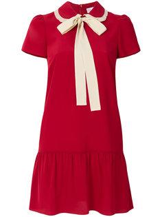 мини-платье с завязкой на бант  Red Valentino