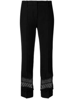 брюки с кружевными вставками Marc Cain