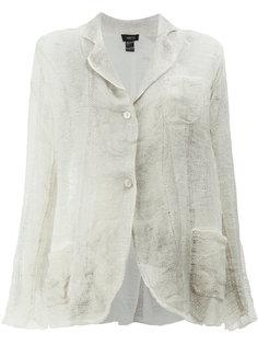 пиджак с потертым эффектом Avant Toi