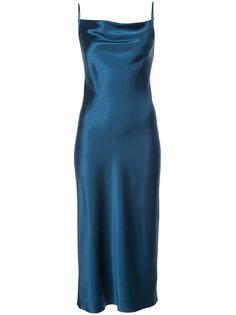 платье-сорочка с вырезом-хомут  Fleur Du Mal