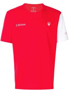 футболка с принтом-логотипом Z Zegna