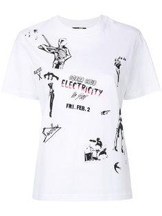 футболка Electricity McQ Alexander McQueen