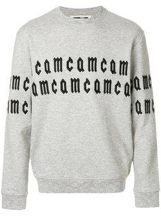толстовка  с логотипом  McQ Alexander McQueen