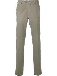 брюки узкого кроя со стрелками Loro Piana