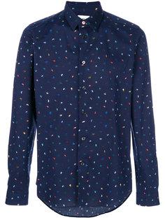 рубашка с принтом мазков кисти Ps By Paul Smith