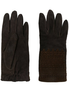 декорированные перчатки Giorgio Armani Vintage
