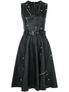 платье с молниями Alexander McQueen