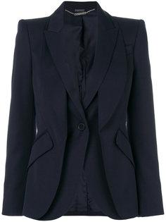 двухслойный пиджак Alexander McQueen