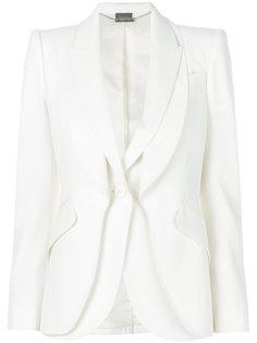 пиджак с многослойным эффектом Alexander McQueen