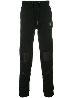 спортивные брюки с бляшкой с логотипом Philipp Plein