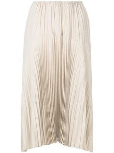 плиссированная юбка Vince