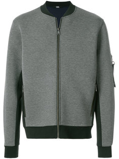неопреновая куртка-бомбер  Karl Lagerfeld