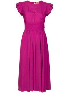 платье с рукавами с рюшами Nº21