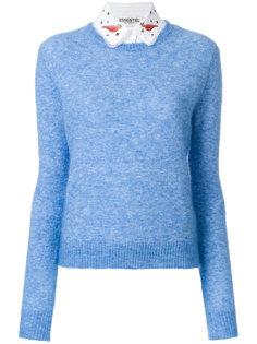 классический приталенный свитер Essentiel Antwerp