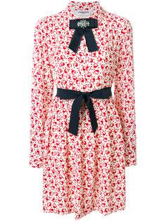 платье-рубашка с рисунком и бантами Essentiel Antwerp