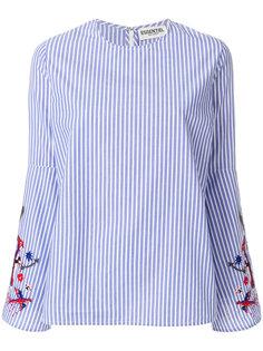 блузка в полоску с вышивкой Essentiel Antwerp