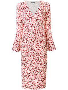 платье с запахом длины миди Essentiel Antwerp