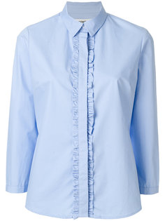 рубашка с потайной застежкой и оборками Essentiel Antwerp